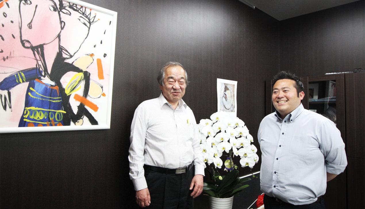 ユニタス外語学院<br /> 上田様、増田様