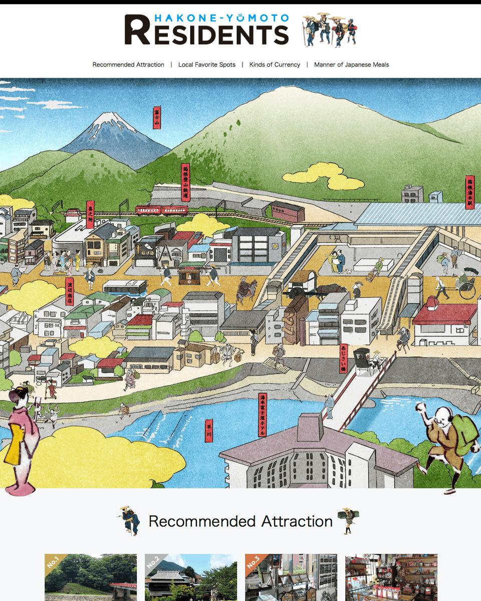 箱根湯本ローカル情報サイト