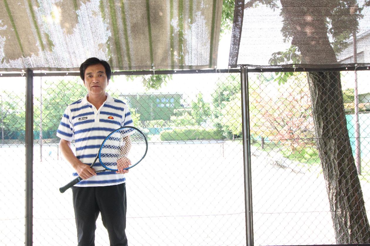 甲府国際テニスコミッション<br /> 富岡様