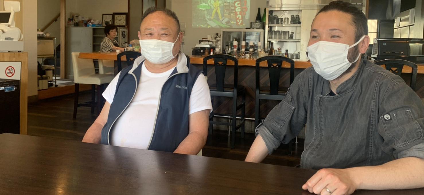 一心+francais N.isshin 店主 石田博文様・弘樹様